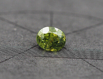 d94.)  DEMANTOID  DEMANTOIDE  GRANAT  GARNET  NAMIBIA  1,07CT