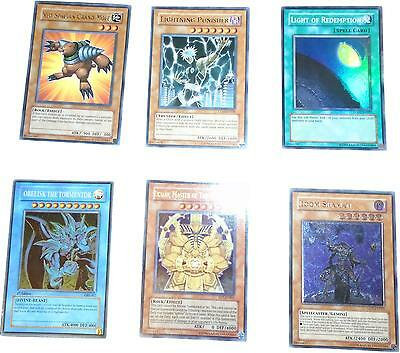 USED Konami YuGiOh! Set Of 6 Unique Trading Card (D.T)