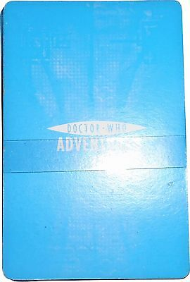 USED Doctor Who Adventures Full Set Of 26 Plating Cards (D.T)