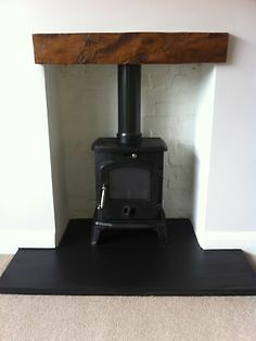 Honed Slate T Shape Hearth Stove Wood Burner Made To Measure - Competitive Price