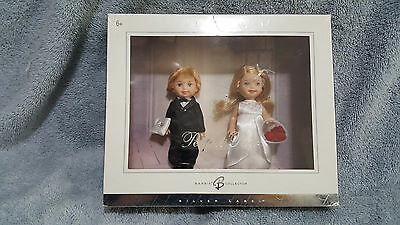 Mattel Barbie David's Bridal Perfect Pair -Tommy and Kelly Doll Blond NEW