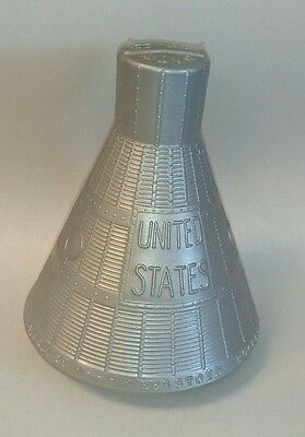 Rare Vintage 1961 Mercury Freedom 7 Capsule Allan Shepard Commemorative Bank