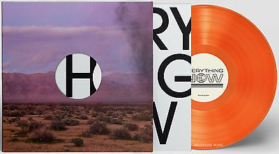 "ARCADE FIRE 12"" Everything Now ORANGE Vinyl Limited Edition NEW Sealed 2017"