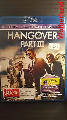 The Hangover : Part 3 [ Blu-Ray & DVD Combo ] LIKE NEW, Free Next Day Post