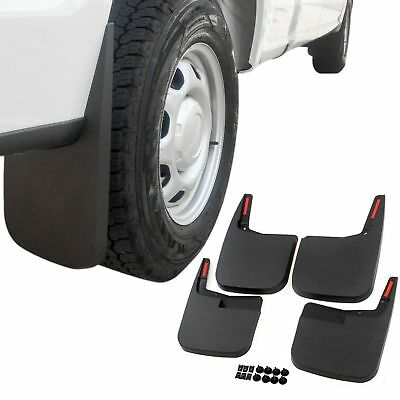 Ford F-150 Mud Flaps 2015-2018 Mud Guards Splash Molded 4 Piece Front and Rear