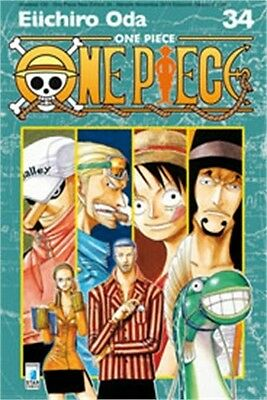 SC2546 - Manga - Star Comics - One Piece New Edition 34 - Nuovo !!!