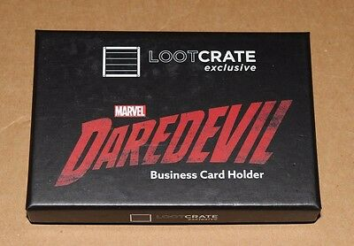 Loot Crate Dx Investigate Marvel's Daredevil Nelson And Murdock Card Holder