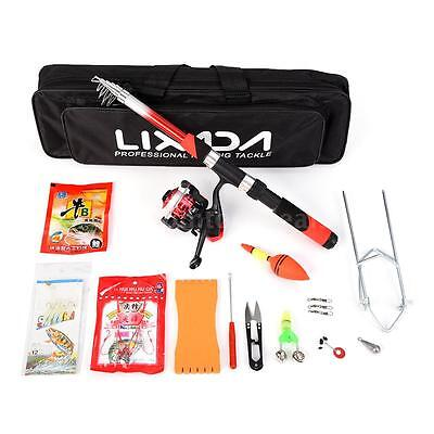 Lixada 2.1m Fishing Sea Rod Spinning Reel Professional Pole Rod Set Kit Z9O5