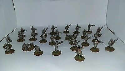 25mm WWI Serbian Army Painted, Miniatures