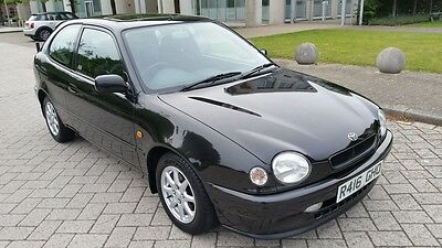 1998 Toyota Corolla 1.3 G6 1 Owner From New 27K Ftsh 17 Stamps 6 Speed Stunning