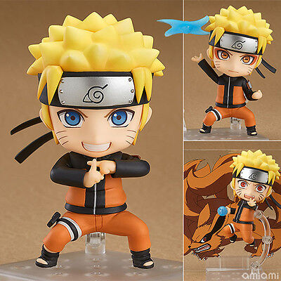 Naruto Shippuden Ninetales 682# Nendoroid Action Figure toy change face Anime