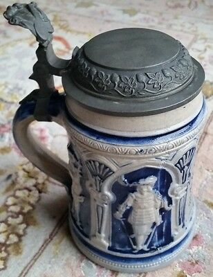 A Superb Antique German Beer Stein Dating Back to Early 19th Century