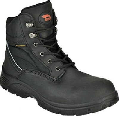 e804d83acd1 NWT MEN'S AVENGER Steel Toe Work Boots Size 10.5 Med Black Leather A7227