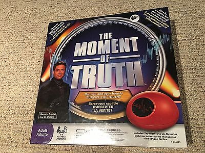 The Moment of Truth Board Game BRAND NEW SEALED