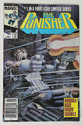 Marvel The Punisher Comic Book #1, 1986, Near Mint Condition, Collectable