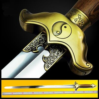 New Martial arts Trigrams XuanWu Tai-chi soft sword Stainless Steel blade #3362
