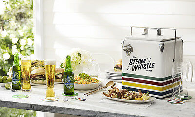 HUDSON'S BAY COMPANY Steam Whistle Retro Style Cooler Canada 150th