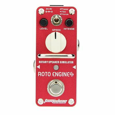 ARE-3 ROTO ENGINE Phaser Vibe Chorus Guitar Analogue Effect Pedal BY Tomsline