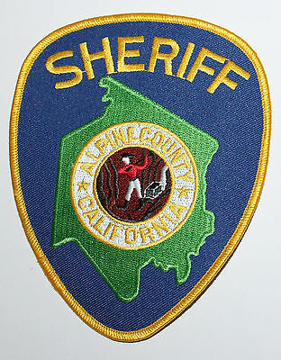 ALPINE COUNTY SHERIFF'S OFFICE California Gold Miner CA SO patch