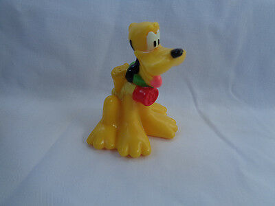 Disney Mickey Mouse Dog Pluto Miniature Backpack PVC Action Figure Cake Topper