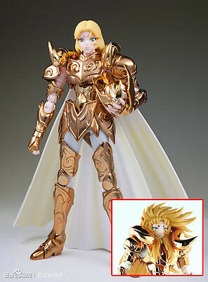 S TEMPLE MC St Saint Seiya Myth Cloth Gold Aries Ex Mu + Shion Head OCE Figure