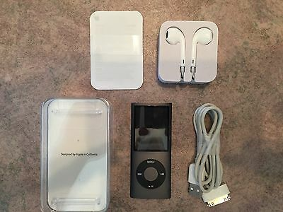 Apple Ipod Nano 4 Th Generation 16 Gb Excellent Condition : Strong Battery