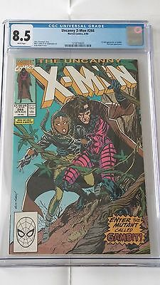 X-men #266, Marvel, CGC8.5