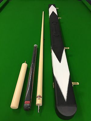 Jimmy White 3/4 Maple Billiard, Snooker Cue, Case + 9' EXT - FREE POST