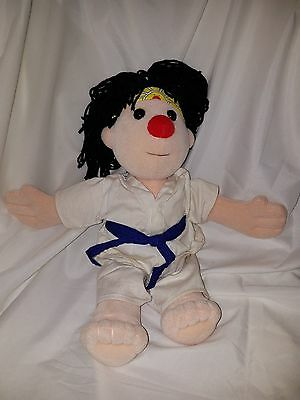 "Rare Vintage Big Comfy Couch 97' Karate ""The Karate Kid"" 16"" Plush Doll"