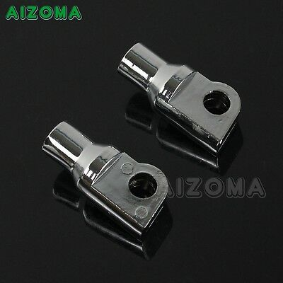 Passenger Highway Foot Peg Mounting Bolts Adapter For Harley Male Pegs Mounting