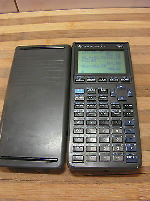 With Warranty, TI-82 Scientific Graphing Calculator, Texas Instruments