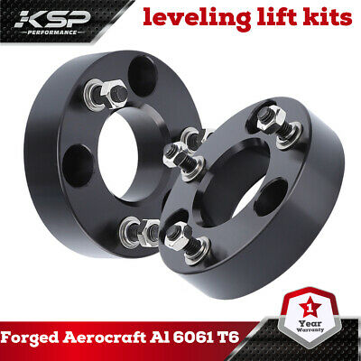 "2"" Front Leveling Spacer Lift Kit 2006-2016 Dodge RAM 1500 4WD CNC Billet"