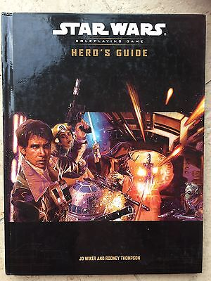 Pre Owned - Heroes Guide - Star Wars Role playing Game.