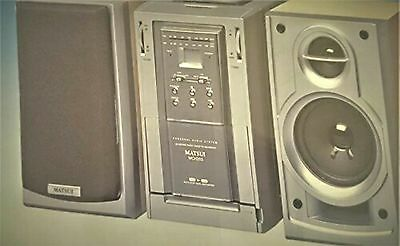 Matsui Mch203 Home Audio System In Excellent Condition