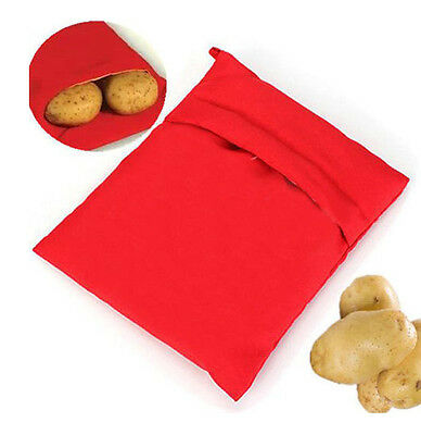 Microwave Baked Potato Bag Cooker Cooking Reusable Baking Kitchen Tools Fast