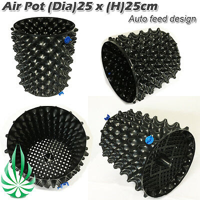 Air Prunning Pot Rocket Pot 11L With Solid Auto Feeding Designed Base Root Pot