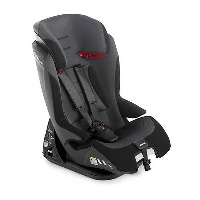 JANE Siege Auto Groupe 1/2/3 Grand Noir - Isofix