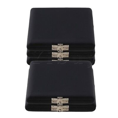 5 pieces PU Leather Black 6 Oboe Reeds Case Woodwind Instruments Accessories