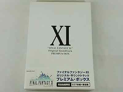 USED FINAL FANTASY XI Original Soundtrack PREMIUM BOX limited edition F/S Japan