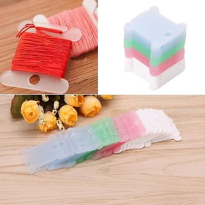 50Pcs Embroidery Floss Craft Thread Bobbin Cross Stitch Storage Holder