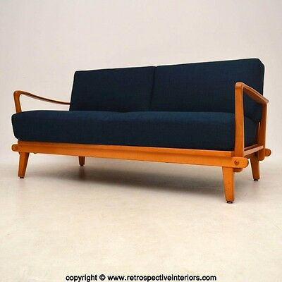 RETRO SOFA BED BY WILHELM KNOLL VINTAGE 1950's