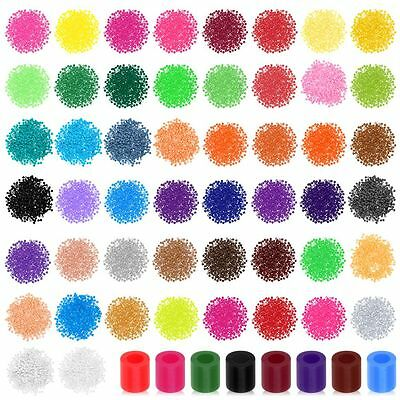 50 Colors 500 PCS/Bag 5MM PP HAMA/PERLER BEADS For GREAT Kids Funny Newest