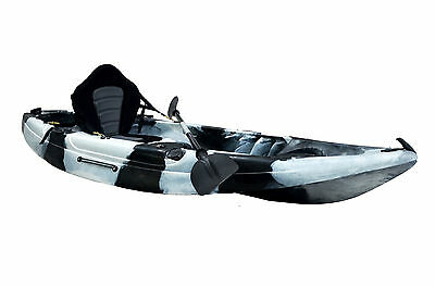Kayak Boat Canoe Sit On Top River Lake 2017 With All Accessories Many Colours