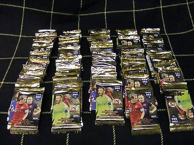 75 SEALED PACKETS of 2015/16  PANINI ADRENALYN XL FIFA 365 trading cards