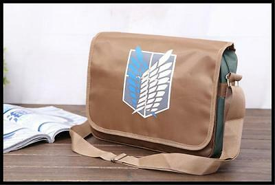 Attack on Titan,student school bag messenger bag casual single shoulder bag