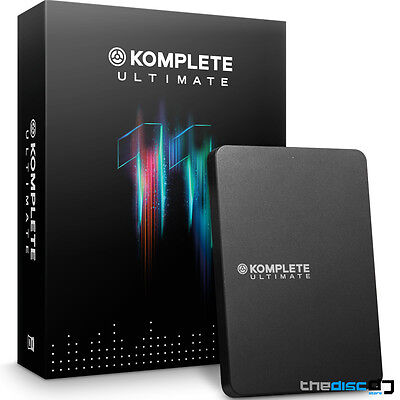 Native Instruments Komplete 11 Ultimate Software UPDATE From Ultimate 8-10