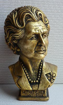 New Original Prime Ministers of Great Britain Margaret Thatcher Iron Lady bust
