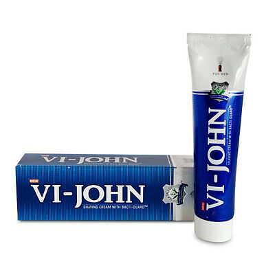 VI-John Regular Shaving Cream - 70 gm Softer Skin Smooth Shave healthy glow