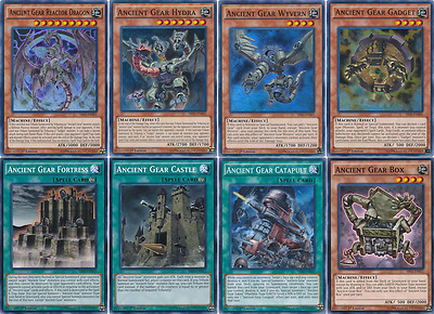 41 Cards Ancient Gear Deck| BEST 2017* Ancient Gear Reactor Dragon Deck Yugioh
