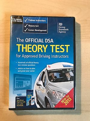 The Official DSA Theory Test For Car Drivers DVD